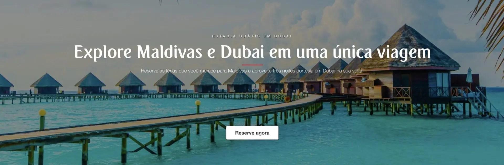 Emirates estadia Dubai Maldivas