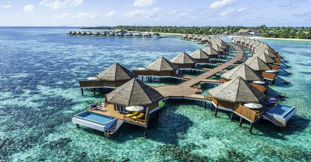 Bangalô Mercure Kooddoo Maldivas