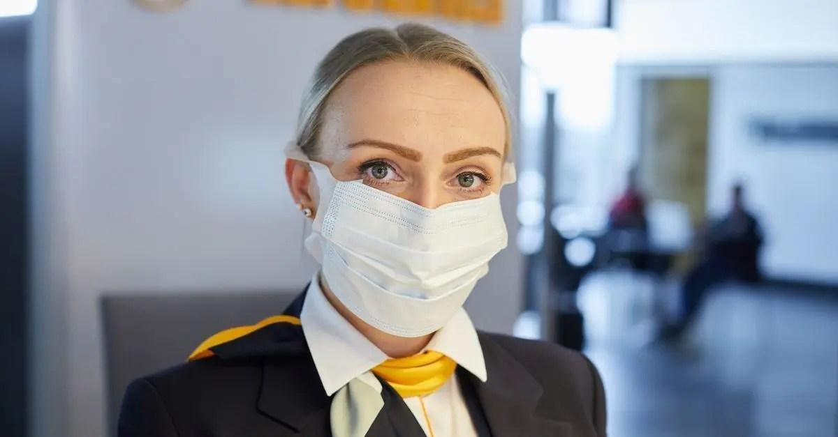 Lufthansa máscaras