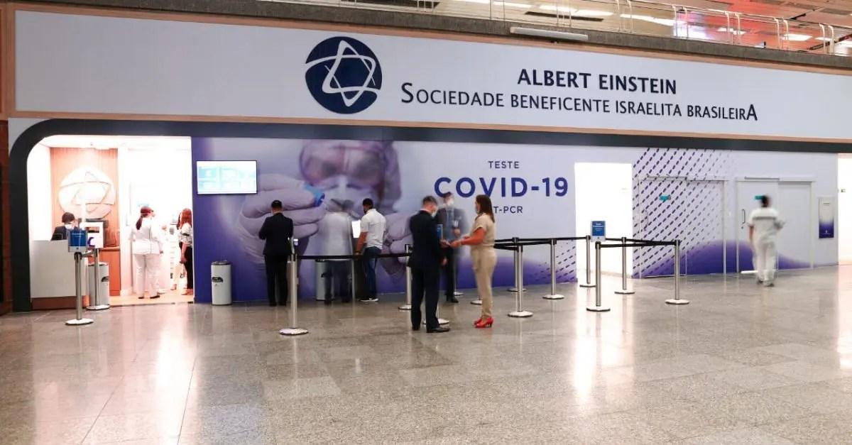 Teste COVID-19 Aeroporto do Galeão RIOgaleão