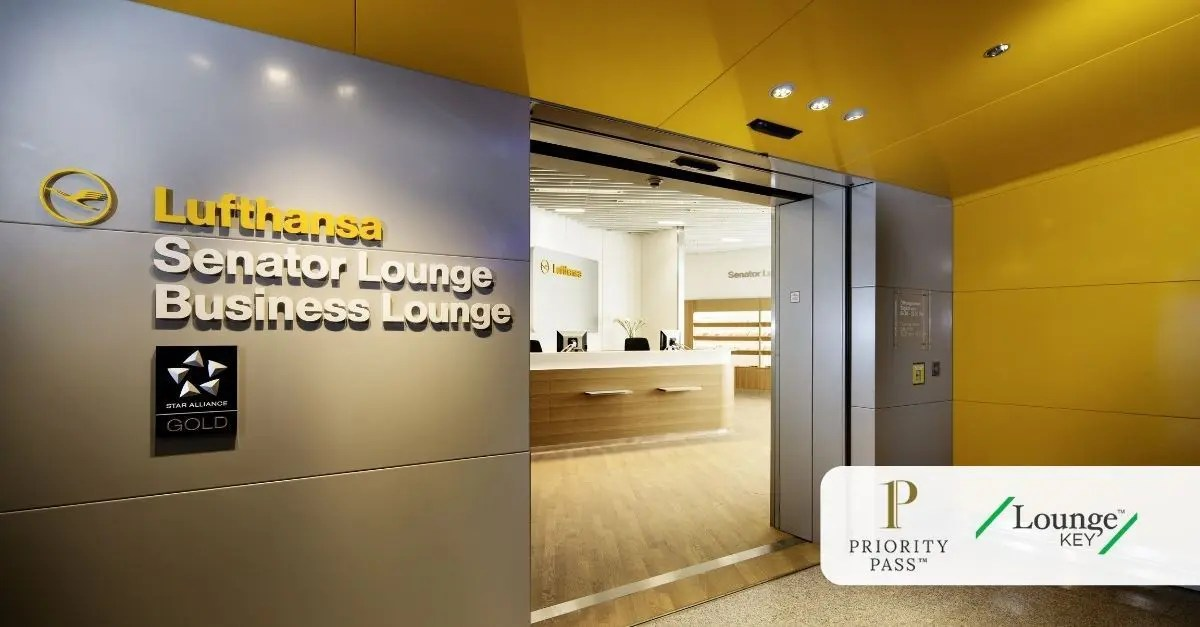 Priority Pass LoungeKey Lufthansa