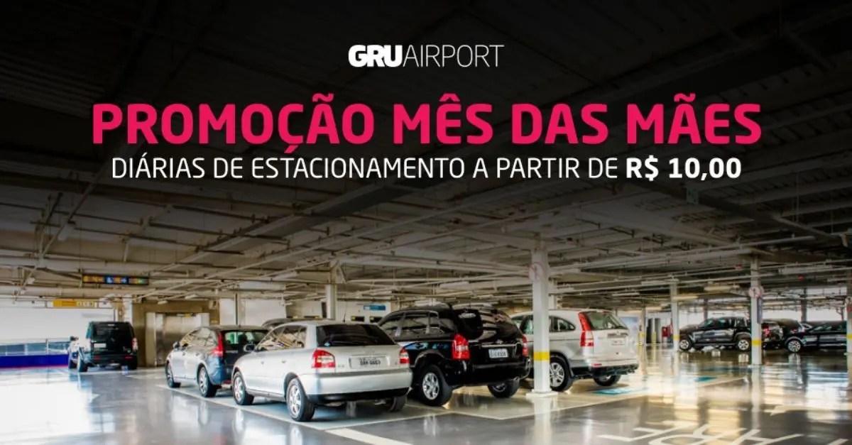GRU Airport estacionamento