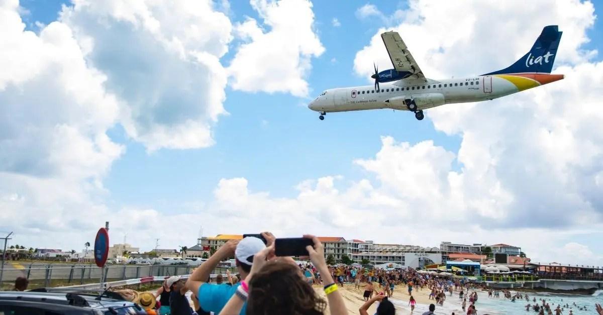 Sint Maarten aeroporto