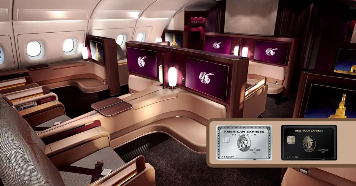 Qatar AMEX desconto