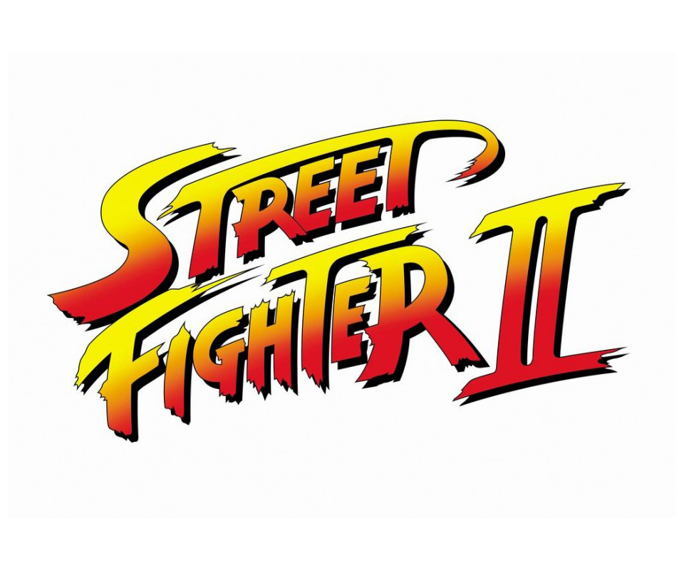 Logotipo final de Street Fighter II
