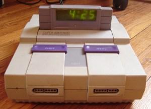 Super Nintendo - despertador