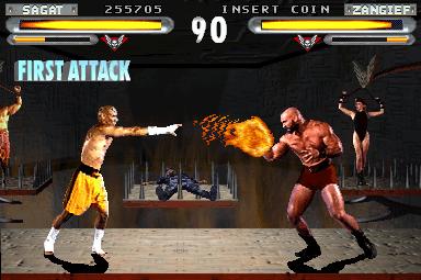 Street Fighter - The Movie - Arcade