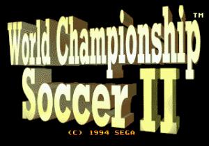 World Championship Soccer II (U)