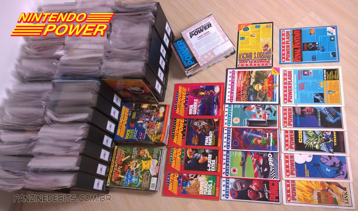 Coleção Nintendo Power