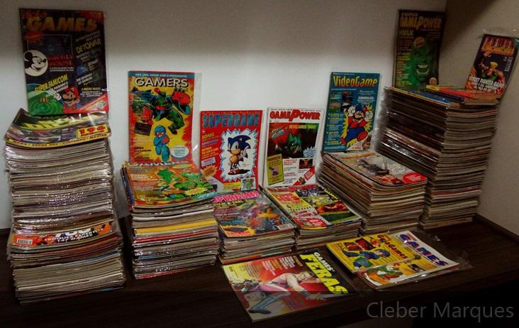 Coleção Revistas de Videogame