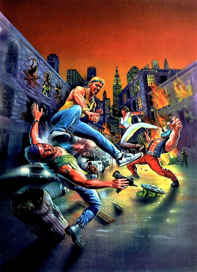 Streets of Rage - capa EUA