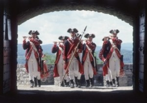 Fife and Drum Corps. Courtesy of Fort Ticonderoga.