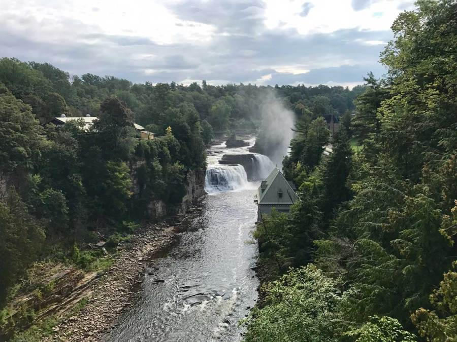 Ausable Chasm.