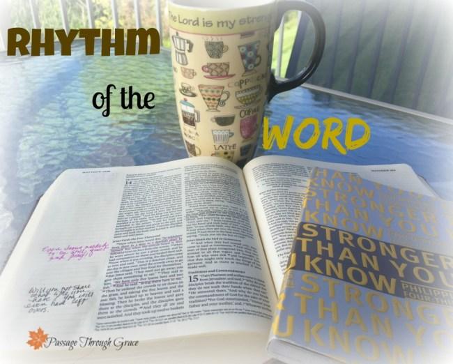 rhythm of the word