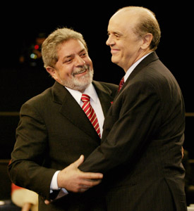 Lula e Serra