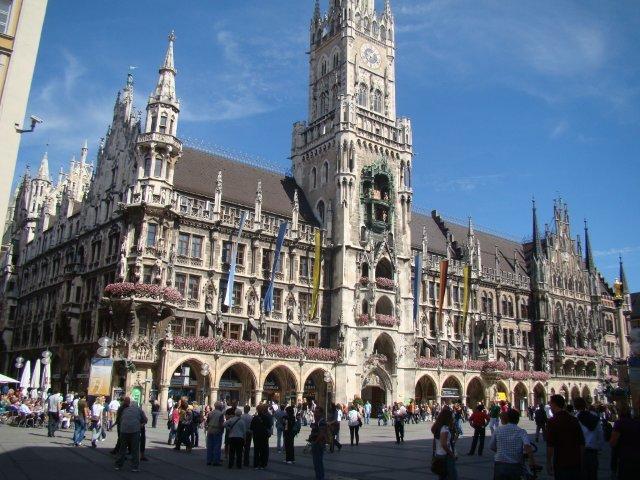 Munique Marientplatz também pode se tomar uma boa cerveja