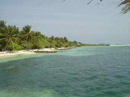 Praias na Maldivas