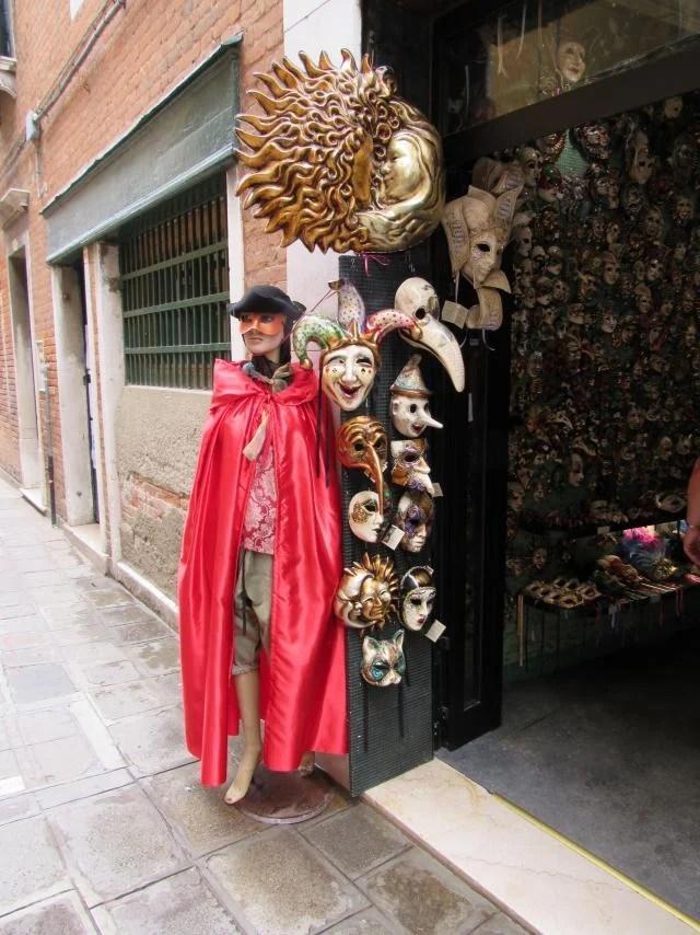 Máscaras de Veneza