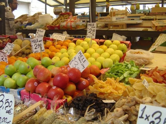 Fruta em Veneza