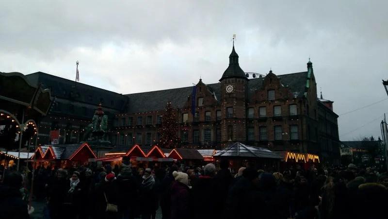 Marktplatz mercado natal Dusseldorf