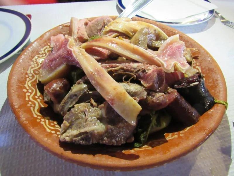 Cozido no restaurante Dom Pedro Pitões