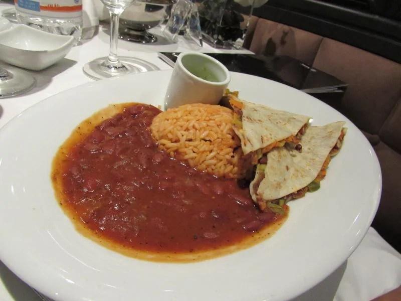 comida mexicana - comida num cruzeiro