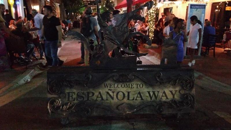 Española Way em Miami Beach