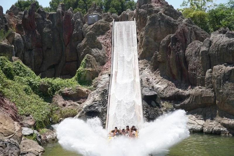 diversão em PortAventura Park