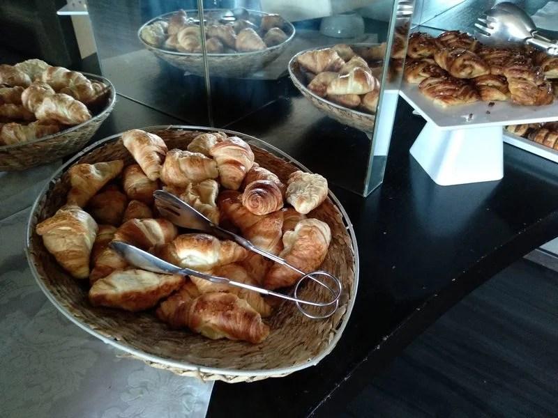 croissants no Penafiel Park Hotel & SPA