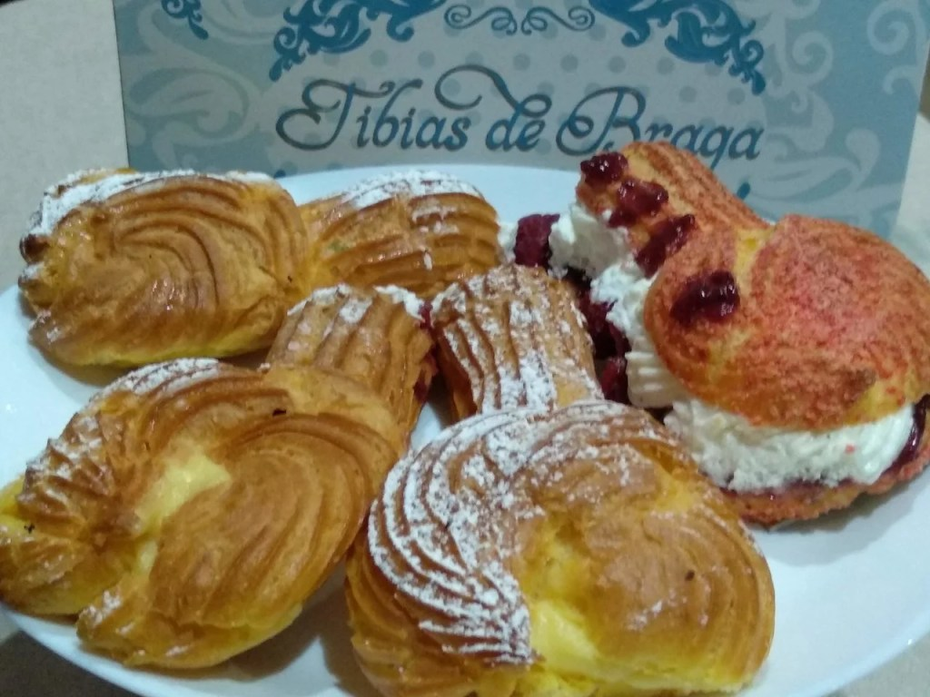Doces típicos de Braga: tíbias
