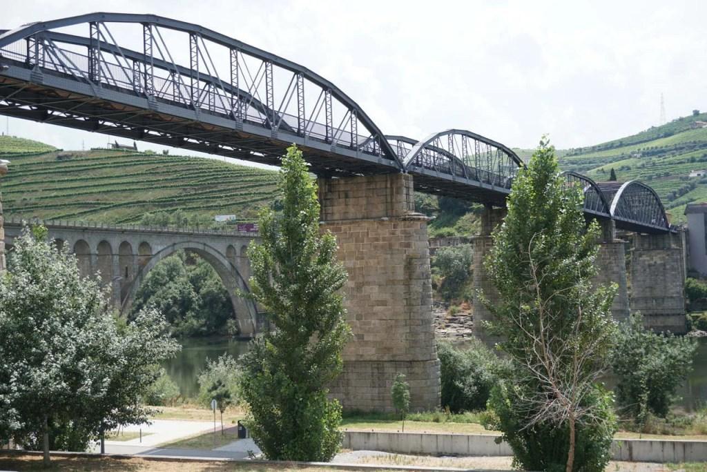 Ponte Pedonal na Régua.