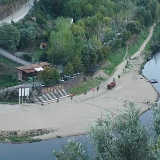 Praia Fluvial do Reconquinho.