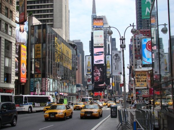 time square New York