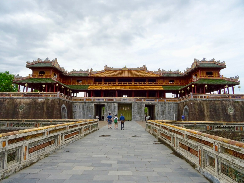 La città imperiale di Hué