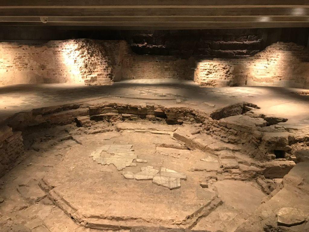 area archeologica Duomo di Milano