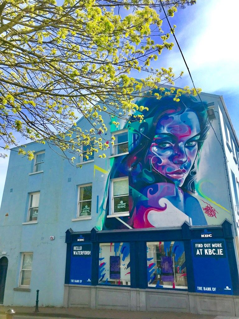 street art in waterford