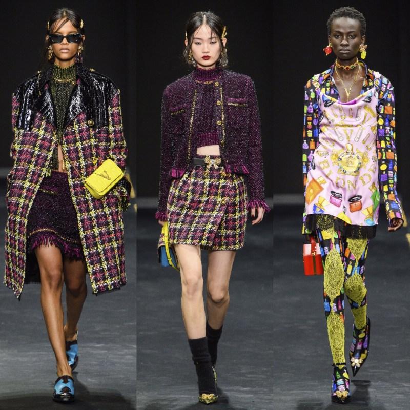 Looks Versace Outono 2019
