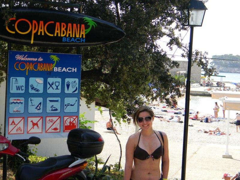 Copacabana Beach - Entrada