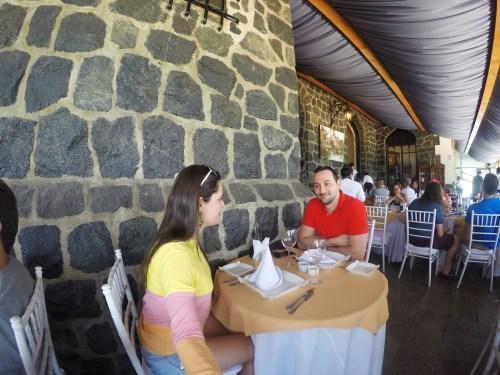 Almoço - Castillo Del Mar