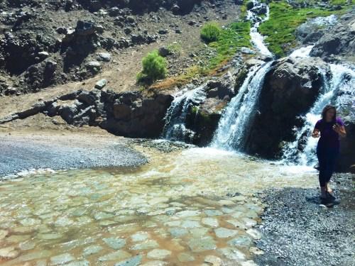 Caminho com as Cachoeiras