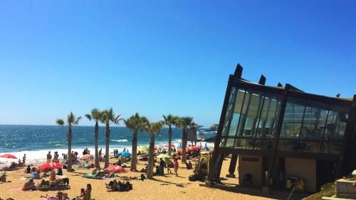 Playa Renaca - Um dos Restaurantes a beira da praia