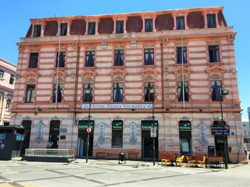 Plaza Sotomayor e Hotel com Arquitetura do Século XIX