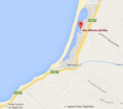 Mapa - San Alfonso Del Mar