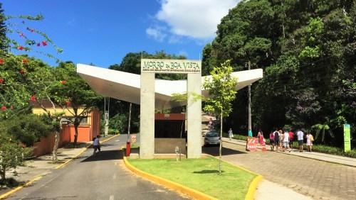 Entrada do Morro do Boa Vista