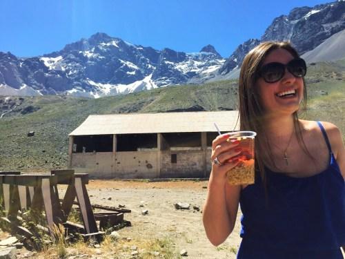 Experimentamos a famosa bebida nas Cordilheiras dos Andes