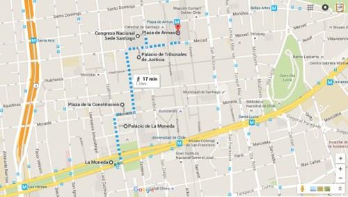O que fazer em Santiago em 3 dias ou mais - Roteiro do centro histórico no 1º dia