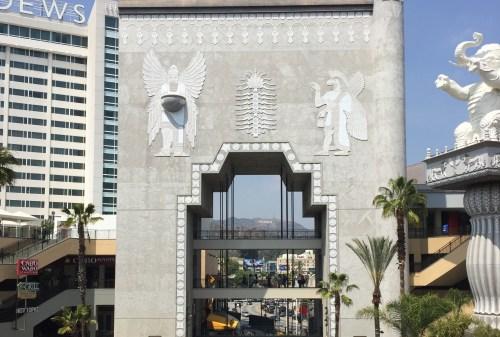 Vista do Hollywood Sign
