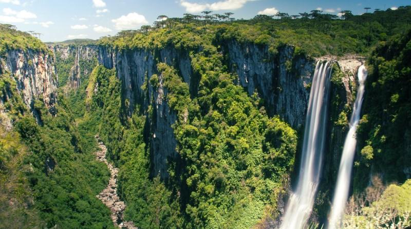 Canyon Itaimbezinho e Índios Coroados no Parque Aparados da Serra