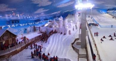 Um dia no Snowland, o primeiro parque de neve indoor das Américas