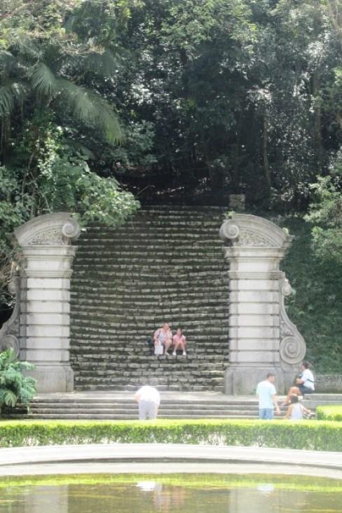 jardim botânico são paulo escadas